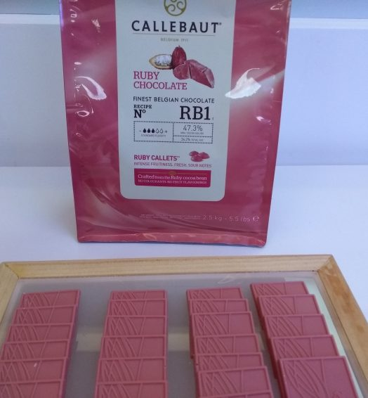 Tablete de Chocolate Ruby 35g