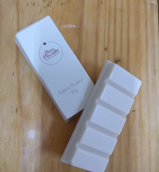 Tablete de Chocolate Branco 35g