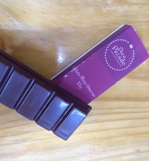 Tablete de Chocolate Meio Amargo 35g