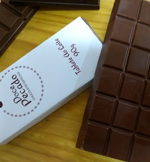 Tablete de Chocolate ao Leite 90g